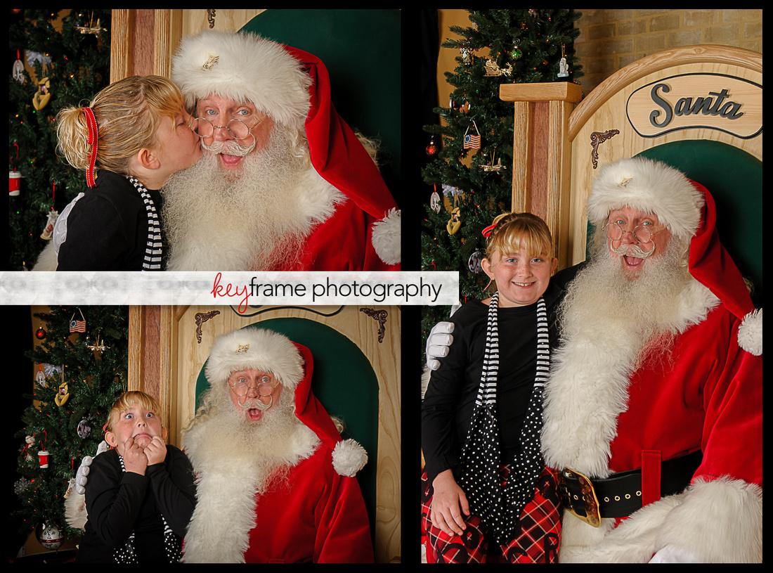 Windcrest Santa Mini-Shoot with Angie Key of Keyframe Photography